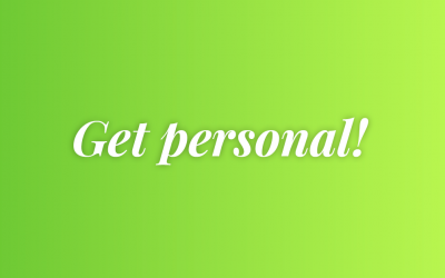 Easy first steps to personalising your B2B communications.