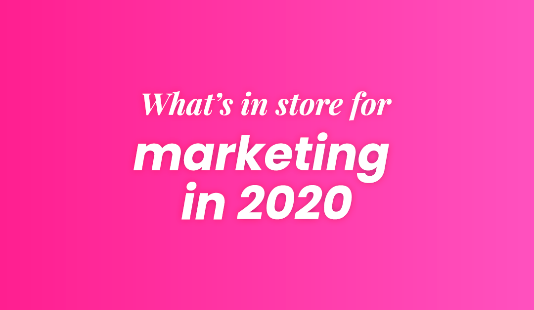 This year, marketing needs to be 20/20