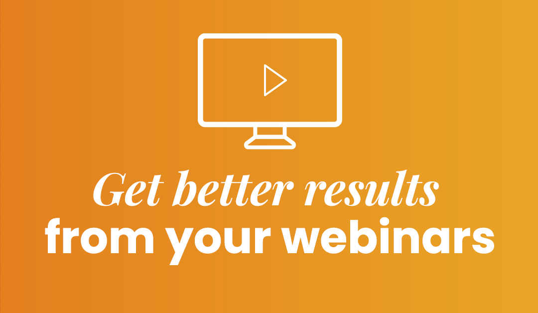 How to plan effectively to promote your webinar