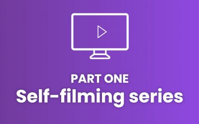 Top tips for self-filming: part one